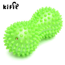KIFIT Peanut Gym Training Spikey Peanut Massage Roller Ball Trigger Point Fitness Stress Pain Relief Exercise Ball Health Care(China)