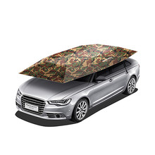 Useful Portable Semi-Automatic Car Umbrella Sunshade Roof Cover Tent UV Protection New Outdoor Tent For Car Fishging(China)