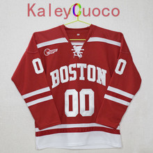 Boston University Custom your name and number Stitched Hockey Jersey
