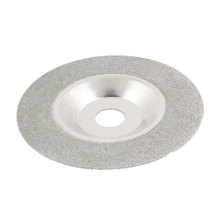 UXCELL Diamond Saw Slice Grinding Cup Wheel 100Mm X 15Mm X 1.2Mm Silver Tone