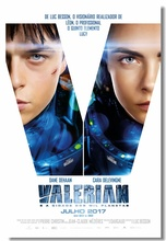 Custom Canvas Wall Murals Movie Valerian Poster Valerian Wall Paper Cafe Bar Sticker Office Wall Painting Home Decoration #0100#(China)