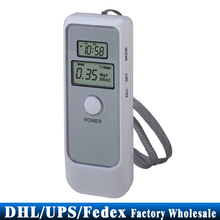 DHL/Fedex/UPS 100PCS Dual Digital LCD Display Backlight Blood Alcohol Breath Tester Breathalyzer Detector Test Testing
