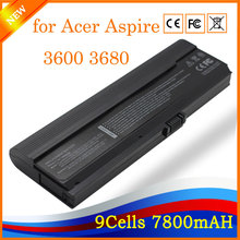 11.1V 7800mAh 9 Cell Li-ion Brand New Laptop Battery for Acer Aspire 3600 3680 5500 5580 5570z(China)