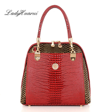 free shipping new women's handbag genuine leather bag women's shoulder bag fashion handbag for women ladies  handbag Q5
