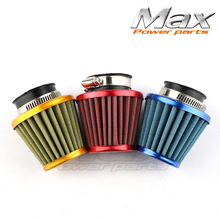 Buy 38mm Air Filter Gy6 Moped Scooter Atv Dirt Bike Motorcycle 50cc 110cc 125cc 150cc 200cc Red Silver Gold Blue for $3.32 in AliExpress store