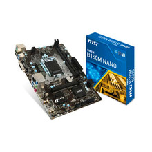 For MSI B150M NANO DDR4 Original NEW B150 Motherboard LGA 1151 support G4560 SATA3 32G USB3.0 Micro-ATX(China)