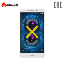 Smartphone Huawei Honor 6X 32GB mobile phone 2016 twincamera NFC metal