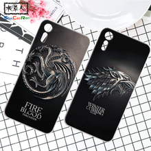 ShuiCaoRen Silicone Case For Sony Xperia XZ Retra Game of Thrones Cover Phone Coque Ice and Fire Fundas For Sony Xperia XZ(China)