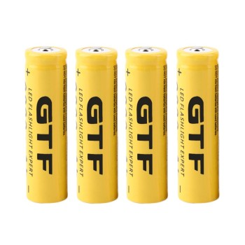 GTF 18650 Battery 3.7V 9800mAh Capacity Li-ion Rechargeable Battery