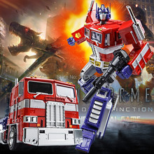 Wei Jiang MPP10 Alloy Transformation OP G1 Figure Trailer Truck Container Commander MasterPiece Diecast Oversized(China)