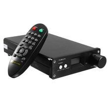 2.1 Channel OLED Digital Stereo Home Audio Power Amplifier MINI Class D 50W+50W HIFI Amplifier USB Optical Fiber Coaxial Input