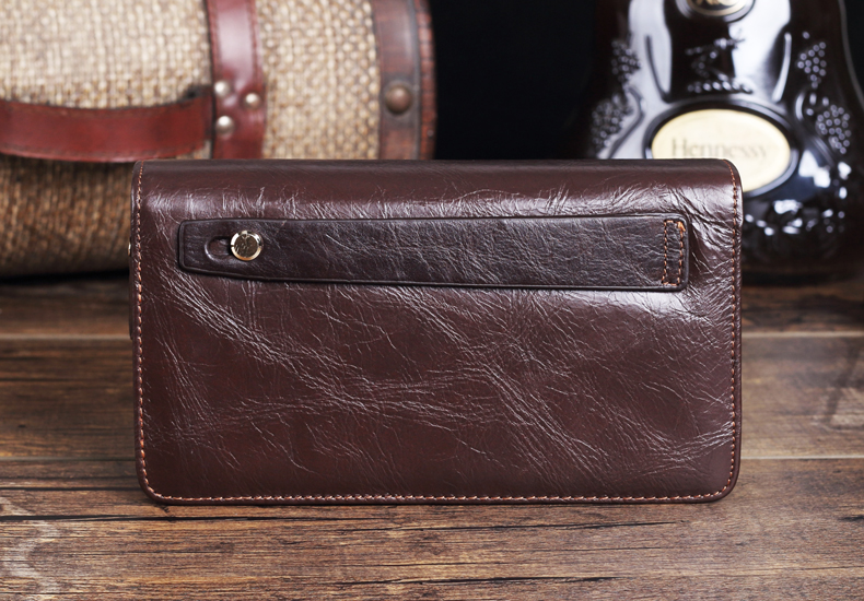 Long Cowhide Purses Discount 9