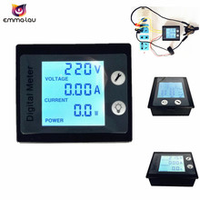 Digital AC 80-260V/0-100A Voltmeter Ammeter Power Energy Meter Voltage Watt Amps Volt Tester With Current Transformer(China)