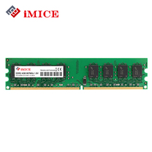 iMICE 4GB Desktop PC RAMs DDR2 667MHz PC2-5300S 800MHz DIMM 2GB Memory 240 pins For AMD System High Compatible Computer Warranty(China)