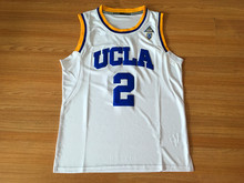 # 2 lonzo ball University of California, Los Angeles, blues basketball high quality embroidery retro retro college jersey(China)