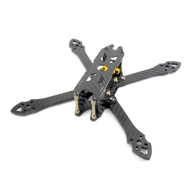 Hot STP ZX-220 220mm Wheelbase 4mm Arm Carbon Fiber Frame Kit for RC Drone FPV Racing 103g DIY Multirotor Models Parts<br>