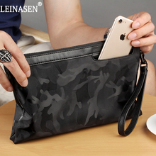 Summer 2017 New Arrival Men Envelope Style Nylon Bag camouflage Large-capacity Messenger Bags Male Clutch Bag(China)
