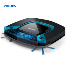 Philips SmartPro Easy Robot vacuum cleaner Ultra-Slim Design 3-step cleaning system Wet mopping FC8794/01