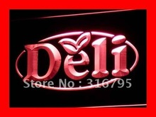 i077 OPEN Deli Cafe Restaurant Logos LED Neon Light Signs On/Off Switch 7 Colors 4 Sizes