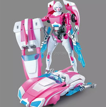 Wei Jiang G1 Transformation Arcee Alloy IDW Oversize Enlarge Female MasterPiece Action Figure Robot Collection Toys