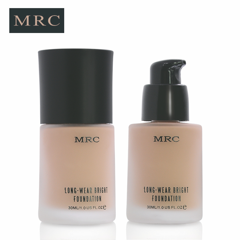 MRC Face Makeup Base Long Lasting Liquid Foundation with Concealer Whitening Moisturizer Oil-Control Waterproof Functions (3)
