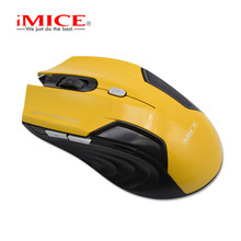 iMICE New 2.4G Wirless Mouse Gaming Mouse 1600DPI Computer PC Laptop Mice For Office Work Gamer Mouse(China)