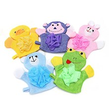 1PCS Baby Children Shower Bathing Bath Towel 5Colors Animals Style Shower Wash Cloth Towels Cute(China)