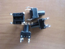Original new 100% circuit board 4 feet vertical touch switch micro switch / key switch 6X6X9(China)