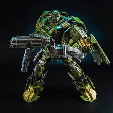 Transformation KBB TF Camouflage Hound Movie 4 Alloy Metal Oversize Edition Action Figure Deformation Boy Collect Robot Toys(China)