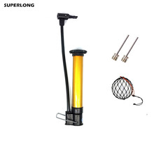 High quality Multi-functional Basketball Football Soccer Volleyball inflator Mini Cycling Air Hand Pump Tire Ball Inflator(China)
