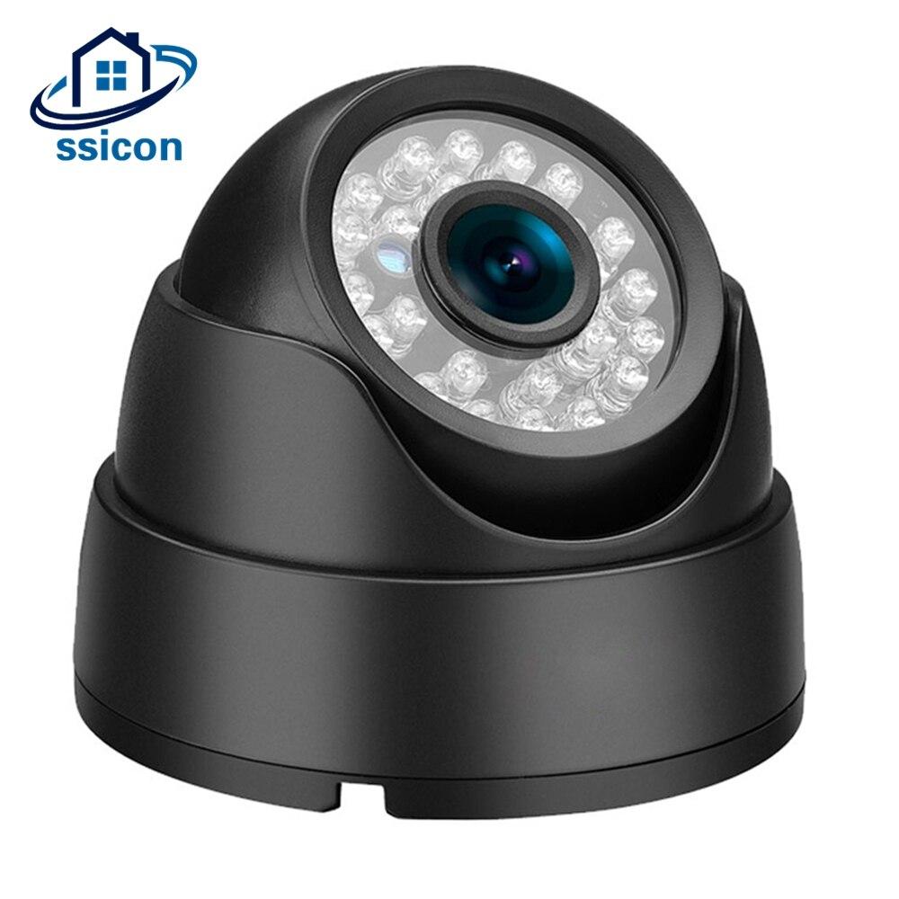 SSICON Indoor Vandal Proof AHD Security Camera Black Metal CCTV Camera for 1080P DVR <br>