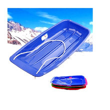Extending Skiing Boards Ski Pad Sandboarding Plate Snow board Thicking Skis Grass Skiing Car Ice Sledge with Rope For Kids Adult