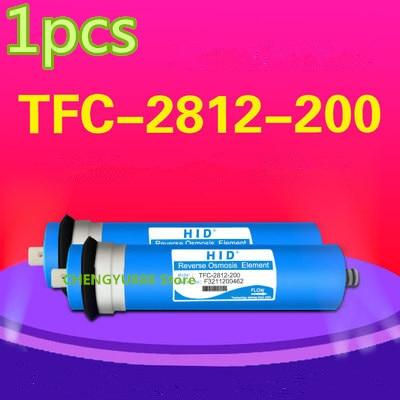 1pcs 200 gpd reverse osmosis filter HID TFC-2812-200G Membrane Water Filters Cartridges ro system Filter Membrane