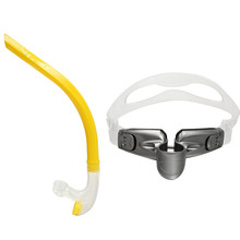 Snorkel Scuba Diving Breathing Tube Diving Swimming Snorkel Tube Center Snorkel with Adjustable plastic holder Diving Equipment(China)