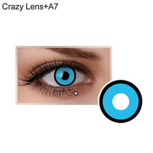 Eye Color Contacts Lenses Halloween Party Cosmetic Cosplay Vampire Colored Lens(China)
