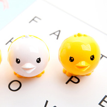 1 Pcs Mini Kawaii Funny Chick Pencil Sharpener Cutter Knife School Student Gifts Stationery Supplies Random Color(China)
