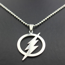2018 FASHION!New Arrival High Quality The Flash Lightning Chain Necklace Pendant(China)