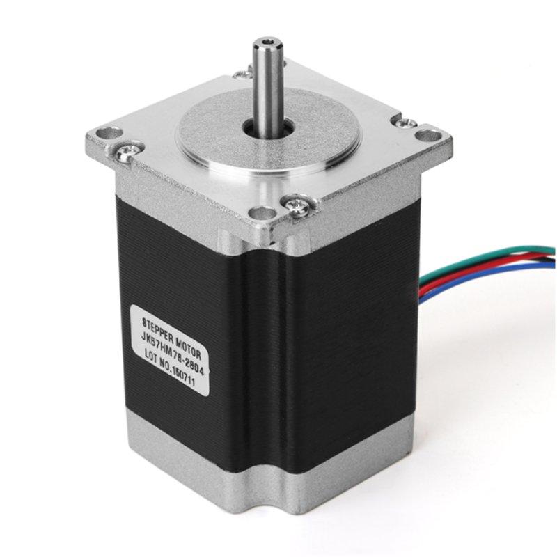 NEMA23 57mm Two Phase Hybrid Stepper Motor 0.9 Degree 76mm 2.8A High Qualtiy<br>