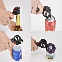 5 in 1 Creative Multifunction Stainless Steel Can Opener Beer Bottle Opener Super Good Jar Opener Kitchen Tool(China)
