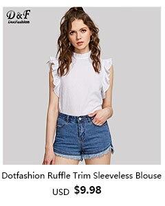 Ruffle Trim Sleeveless