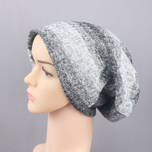 Women Men Winter Warm Soft Knitted Baggy Oversize Beanie Fashion Cap Hat Gift(China)