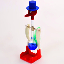 Color Random!!! Novelty Drinking Water Bird Toy Duck Gifts Present Bobbing Educational Toys