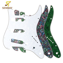 SENRHY 3ply Guitar Pickguard Direct Fit For USA/Mex -Stratocaster Strat Guitar Pickguard Parts & Accessories High Quality(China)