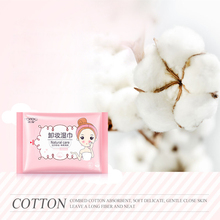25Pcs/set Deep Cleansing Makeup Remover Wet Tissue Cotton Eye Lip Cotton Puff Moisturizing Soft Makeup Pads Makeup Remover Wipe(China)