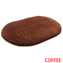 Top Sale Bathroom carpet Bath Mat Super Magic Slip-Resistant Pad Room Oval Carpet Floor Mats 40X60CM