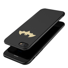Cool Batman Phone Cases for iPhone 7 7 Plus Case for iPhone 6 6S Plus 8 Ultra Thin PC Slim for Samsung S8 S8 Plus Coque Cover(China)
