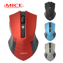 iMICE Wireless Gaming Mouse 6 Button 1600DPI Optical Professional Mouse Game Machine Computer Mouse for PC Notebook PC(China)