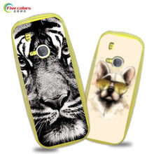 For Nokia 3310 2017 Case Cover 2.4 inch Luxury Soft Silicone TPU Phone Case For Nokia 3310 2017 Paint Protective Cover Back Bag(China)
