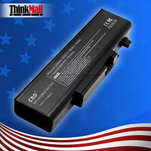 For LENOVO/IBM IdeaPad Y450 Y450A Y450G IdeaPad Y550 Y550A Y550P Y550P Laptop Battery Black 11.1V 5200mAh 6 cell(China)