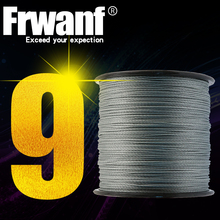 Frawnf 9 Braid Braided Fishing Line Japan Super Strong Multifilament Fishing Lines 300M A braid of Braids Rod Wire 15-310LB(China)